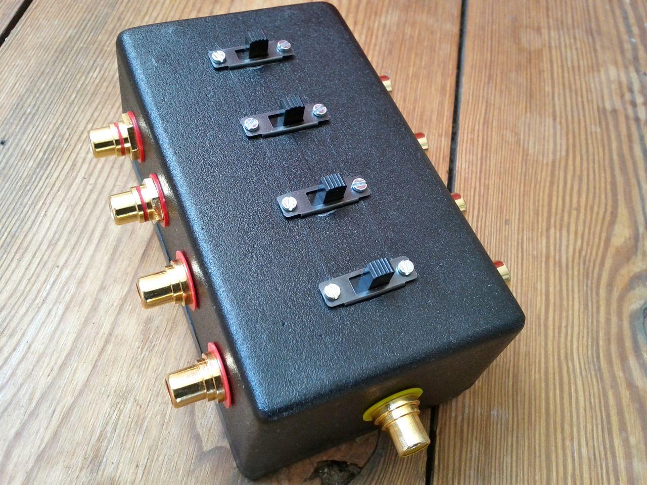 Fredrik Olofsson Musikproduktion Video Camera Switcher Max454